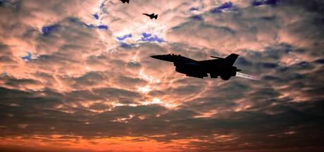 F16's vliegen weer in de avonduren