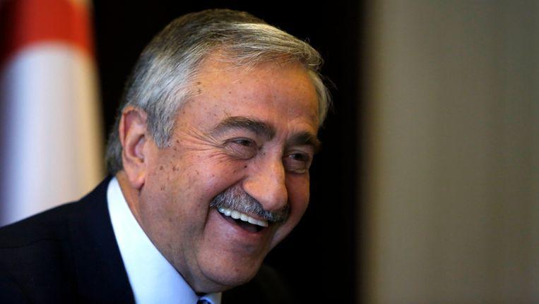 Mustafa Akinci, premier van de Turkse Republiek Noord-Cyprus.