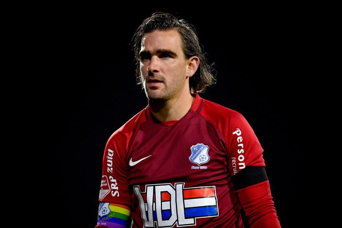 Ruud Swinkels, doelman van FC Eindhoven
