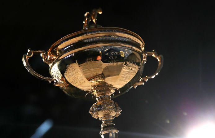 De trofee van de Ryder Cup.