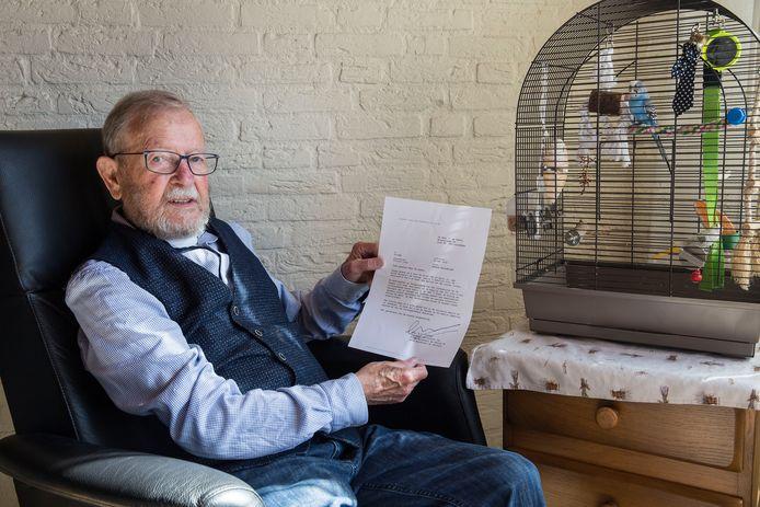 Cees de Leeuw (82) weet zeker dat de koning zijn brief heeft gelezen.