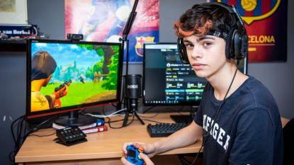 Thorben (18) verdient bakken geld met spelletje Fortnite op Playstation