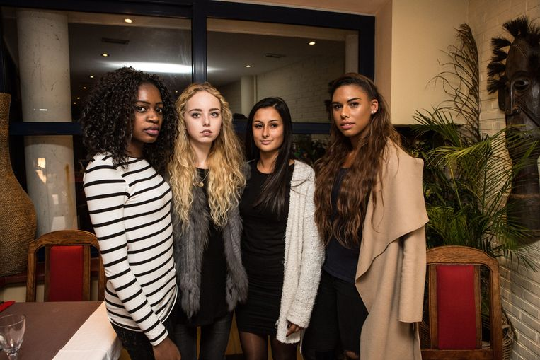 Divine, Justine, Aline en Natassia stapten uit de verkiezing van Miss Exclusive 2016.