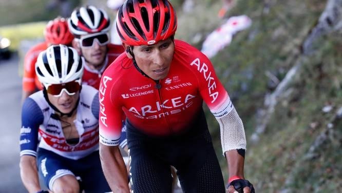 Knieoperatie voor Nairo Quintana: Colombiaan mogelijk maanden out