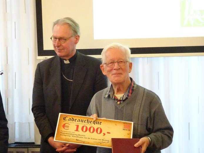 vlnr bisschop Gerard de Korte en Pater Hans de Visser