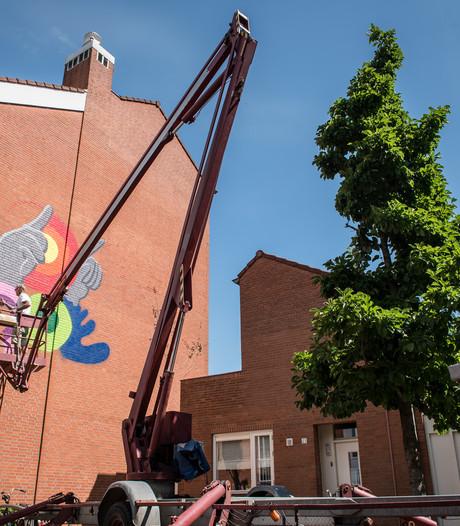 Missie geslaagd: Bartkira-maker pakt uit op blinde muur Wingerdhoek