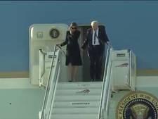 Hand in hand lopen geen optie voor Donald Trump