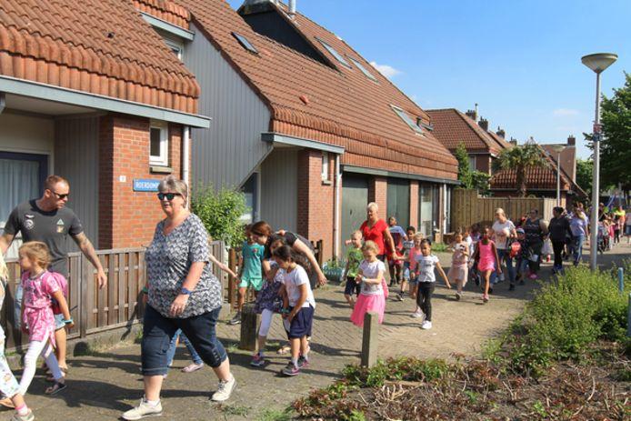 In De Hoek staan veel huurhuizen. Bewoners maken zich zorgen of het gasloos maken van hun wijk hen op kosten jaagt.