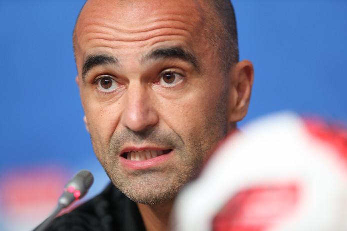 De Belgische bondscoach Roberto Martinez.