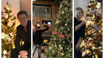 De kerstbomen van onze BV's: welke vind jij de mooiste?
