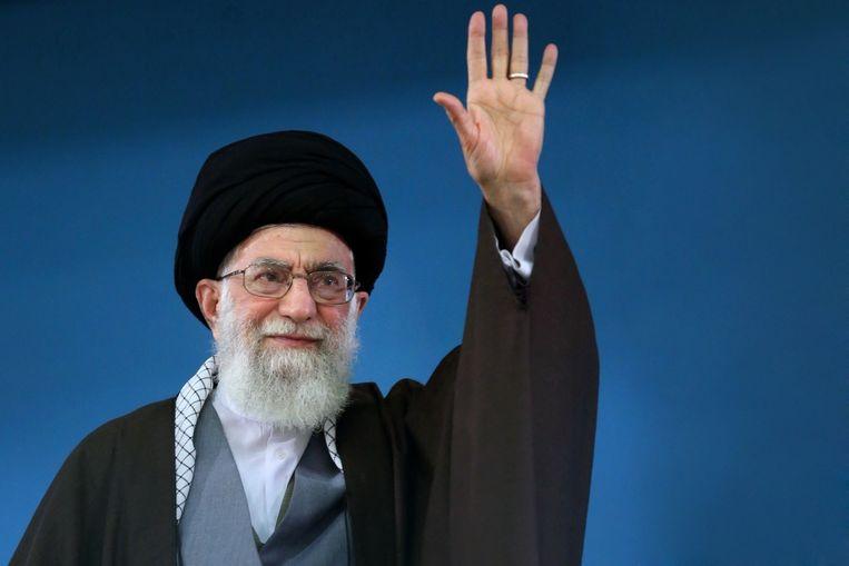 Ali Khamenei. Beeld afp