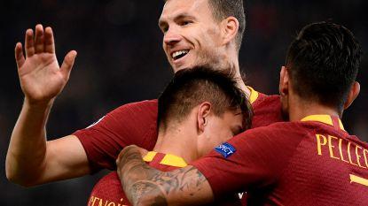 Dzeko - alweer hij - loodst AS Roma met twee doelpunten naar nieuwe zege