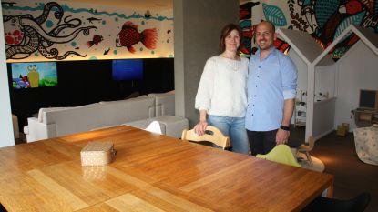 Sidney en Els openen vernieuwd restaurant Imperial met mooie kinderhoek