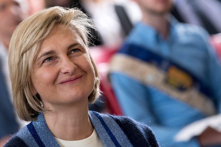 Hilde Crevits is voor CD&V expliciet kandidaat om de nieuwe minister-president van Vlaanderen te worden.