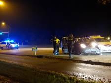 Politiewagen botst met busje op Utrechtseweg in Amersfoort: Zeister (44) gewond