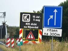 Let op: hele zomer flink omrijden in Twente
