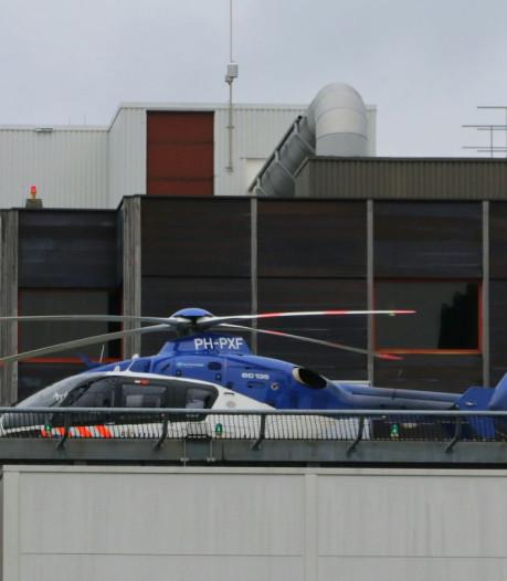 Waarom landde er donderdag een politieheli op het dak van het MST?