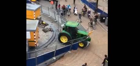 Bekende boerenactivist zat in trekker die levensgevaarlijke situatie veroorzaakte