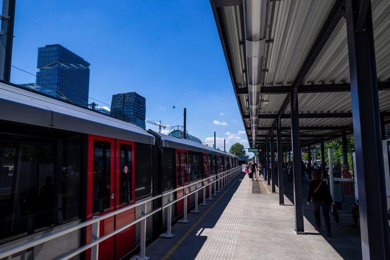 Station Zuid, reizigers per dag: 43.000. Beeld Rink Hof