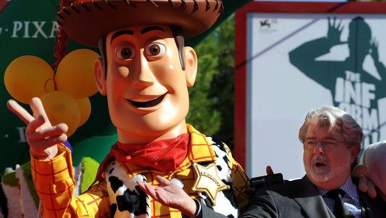 Animatiestudio Pixar en animatiegoeroe John Lasseter. Foto EPA Beeld