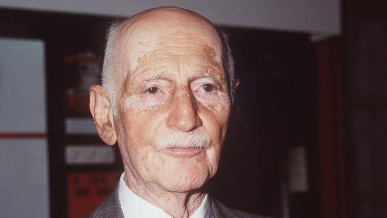 Otto Frank. Foto ANP Beeld