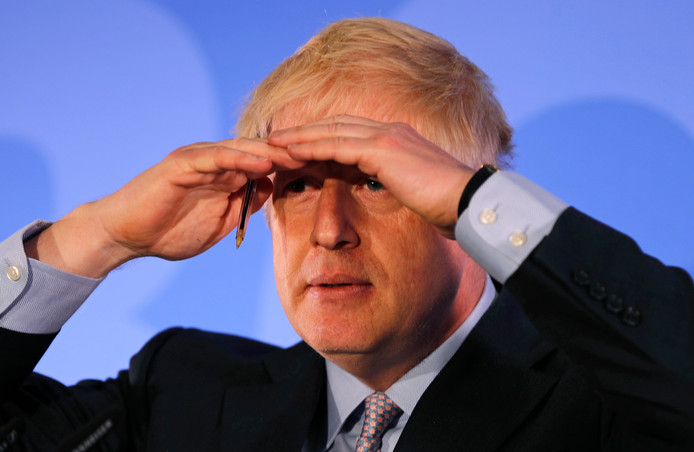 Boris Johnson, le 12 juin 2019