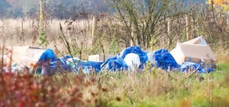Drugsafval gedumpt in natuur tussen Nuenen en Eindhoven