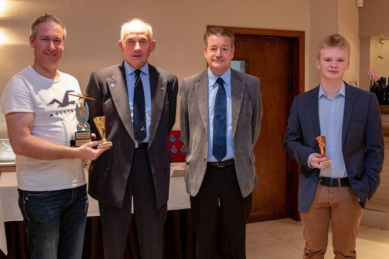 Bart Huygen (links) wint beker De Praetere (foto: Mattijs Cuppens)