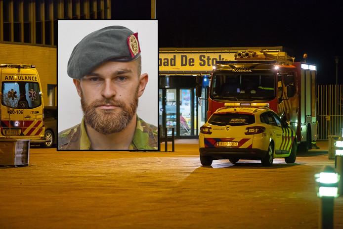 Korporaal Mark Ruben, die overleed na een oefening in De Stok in Roosendaal.