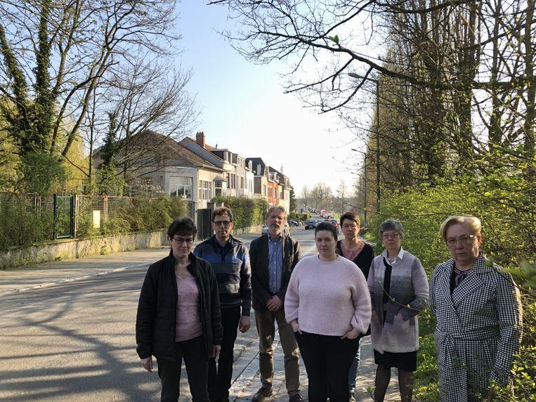 Archieffoto van de buurtbewoners in de Beaulieuwijk.