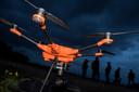 De drone (mét warmtecamera) is onderdeel van het indrukwekkende arsenaal van WhatsAppgroepNeder-Betuwe.