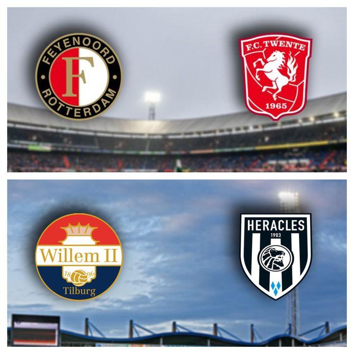 FC Twente en Heracles trappen beide om 14.30 af.