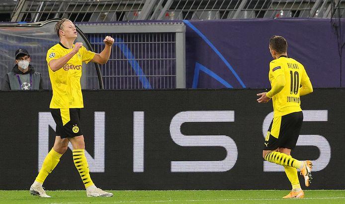 Haaland speelde niet tegen Bielefeld.