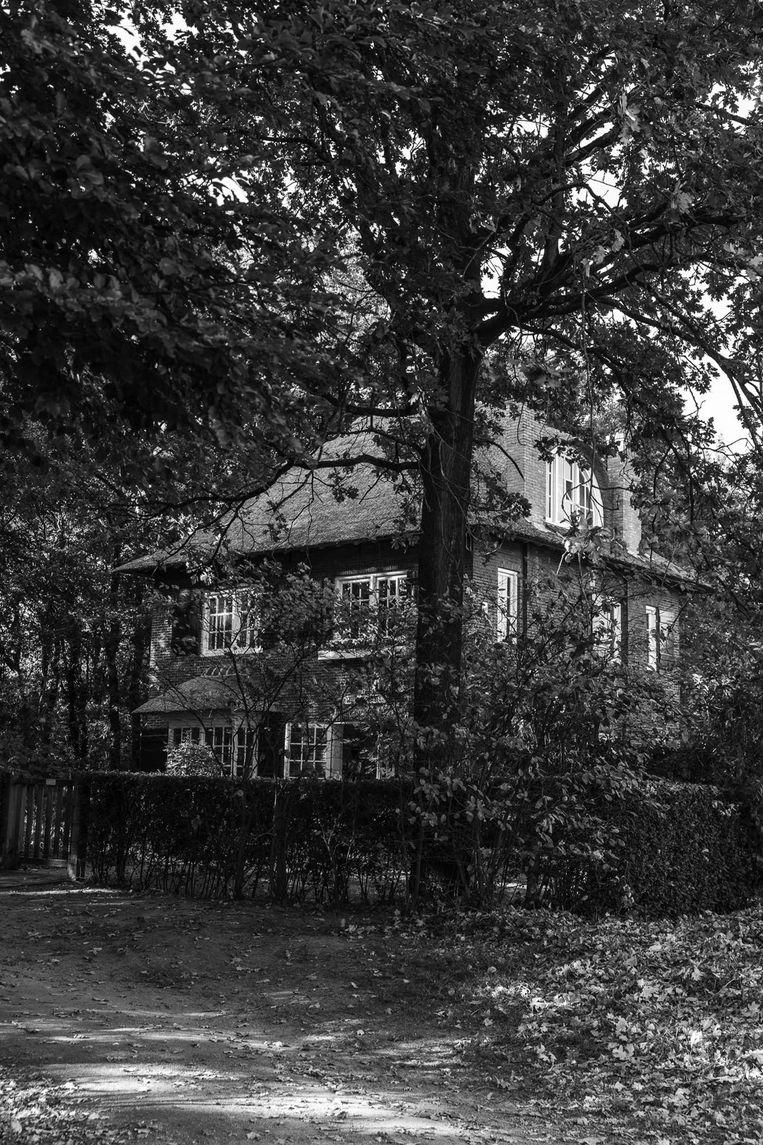 't Hooge Nest, de villa in Naarden, waar de zussen Brilleslijper Joden lieten onderduiken Beeld Jan Willem Kaldenbach