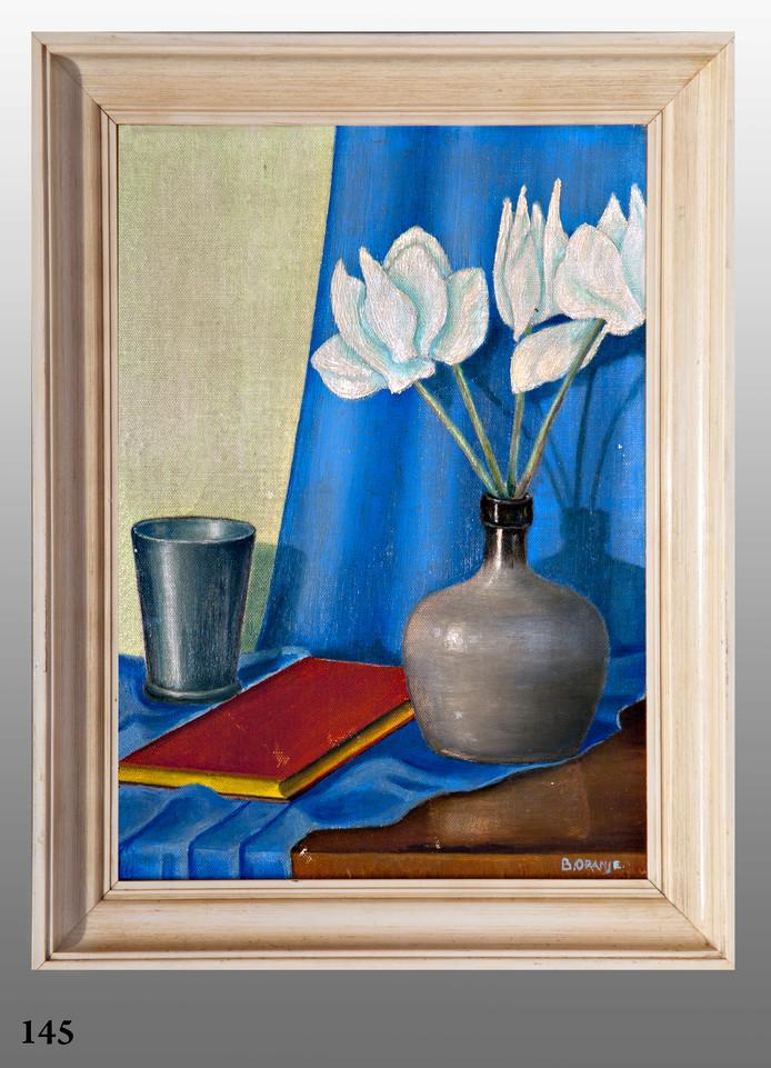 Op de Kroonveiling in Apeldoorn kan binnenkort op een werk van Beatrix worden geboden.