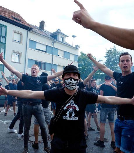 Honderden fans van Willem II kijken vanuit de bosjes naar Europees duel in Luxemburg