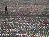 Dépassant 14 km, cette guirlande de fanions est la plus longue du monde