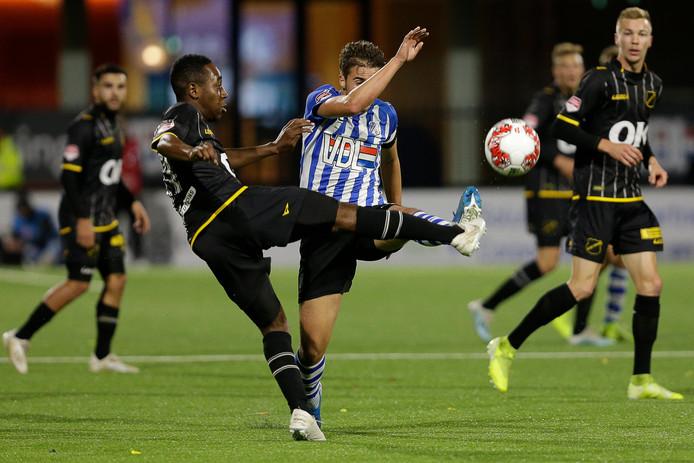 Mashart vrijdag tegen FC Eindhoven.