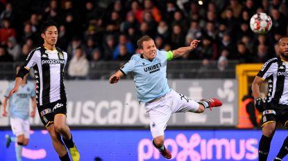 Derde gelijkspel op rij: Club Brugge blijft steken op 0-0 in inhaalmatch tegen Charleroi