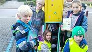 Open bibliotheek voor iedereen aan schoolpoort