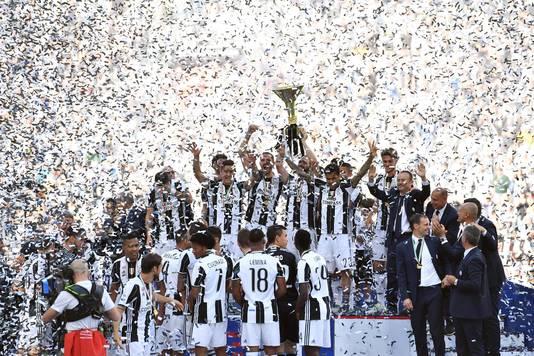 Juventus viert feest!
