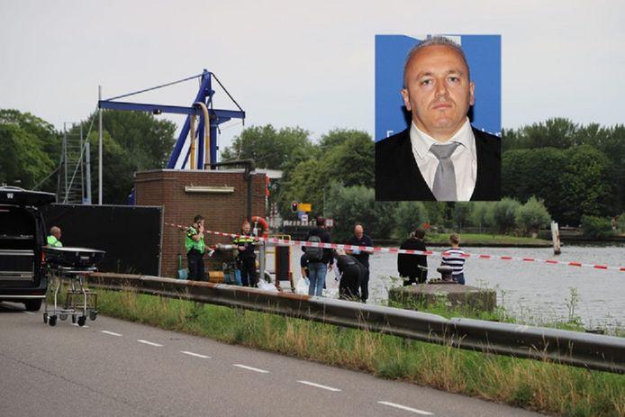 Het stoffelijk overschot van Festim Lato werd vrijdag aangetroffen in het Amsterdam-Rijnkanaal bij Nigtevecht. Een rechercheteam (TGO) onderzoekt zijn dood.