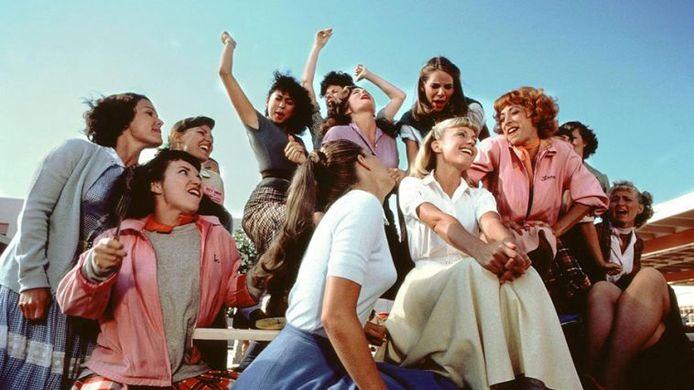 Still uit film 'Grease'