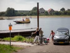 Prachtjaar voor fietspontje Heteren-Renkum