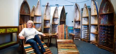 Meubels gemaakt van Javaanse vissersbootjes: Jolanda heeft pop-upstore in Apeldoorn