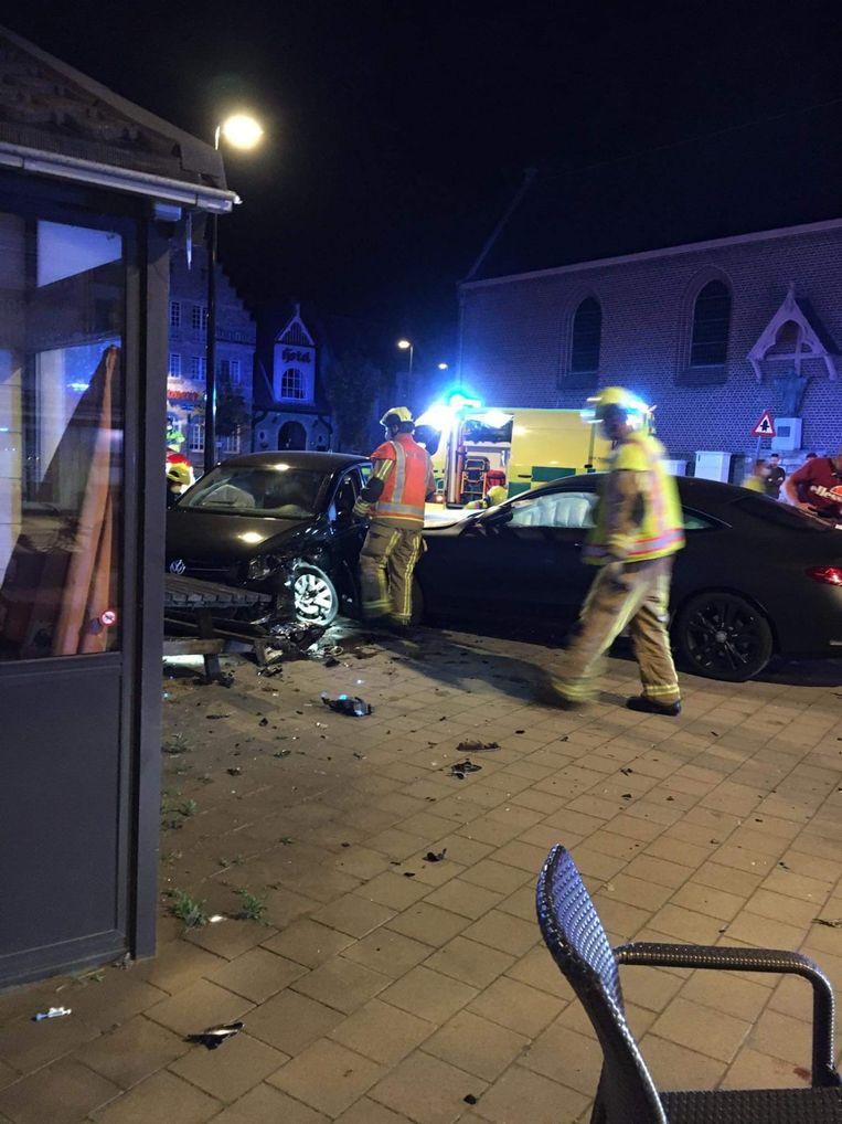 Ongeval Omar Govea, Zulte Waregem