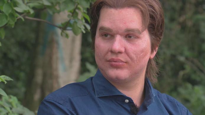 Mark Lucius, vermomd in het BNN-programma 'Je zal het maar hebben'.