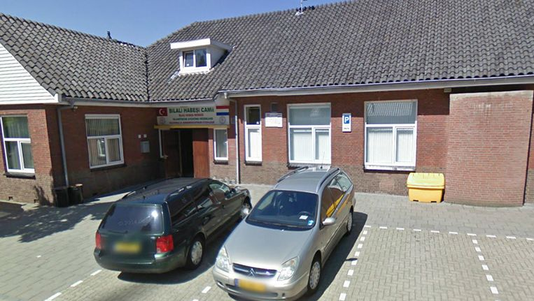 De moskee in Etten-Leur Beeld Google Streetview