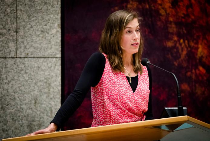 Corinne Ellemeet (GroenLinks) is hoopvol gestemd dat D66 uiteindelijk zal instemmen met een plan om de abortuspil via de huisarts te verstrekken.