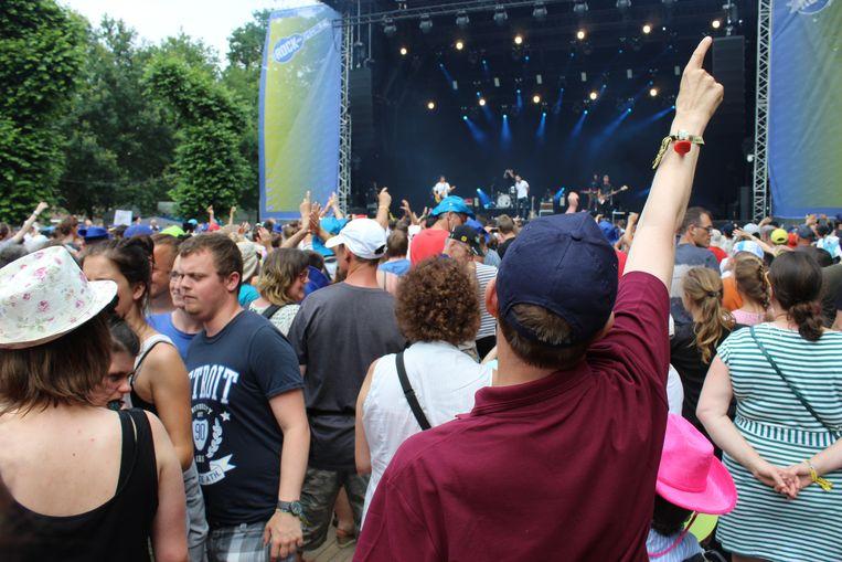 Stevig meebrullen op Rock voor Specials in Evergem.